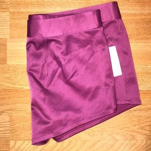 Leith satin finish summer shorts
